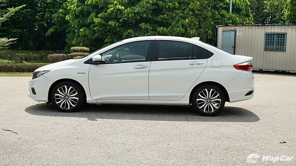 honda city 2017-I drove a smaller car before. Why does each honda city 2017 differ aesthetically? I think i just felt it.03