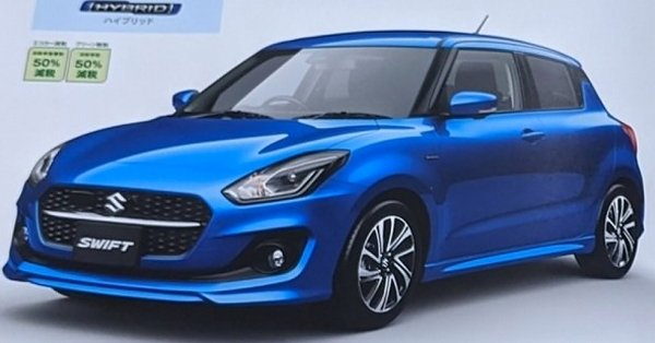 Is this the new 2021 Suzuki Swift facelift?