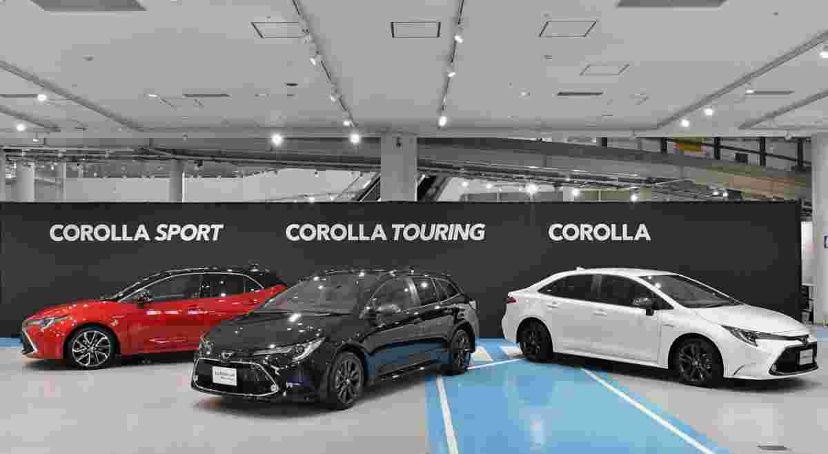 The Japanese market all-new Toyota Corolla is smaller than ours