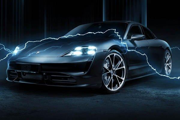 First tuner electric car? TECHART refines the Porsche Taycan