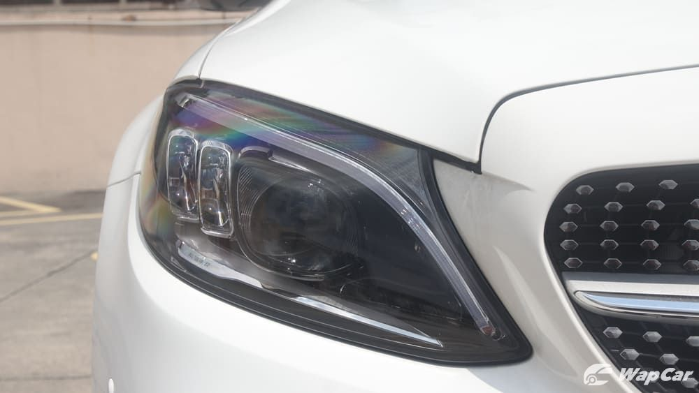 2018 Mercedes-Benz C-Class C 300 AMG Line Exterior 010