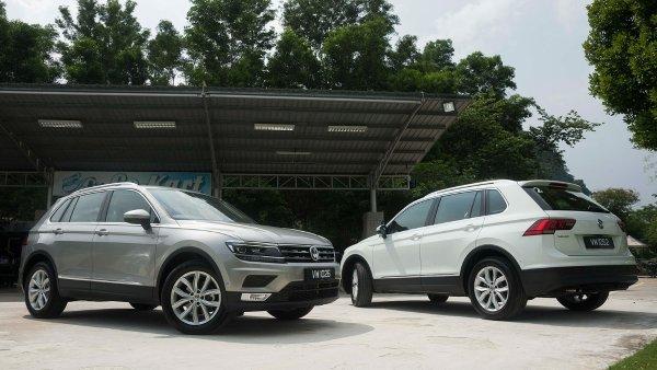 Volkswagen Tiguan overtakes the Golf as VW's best-selling model