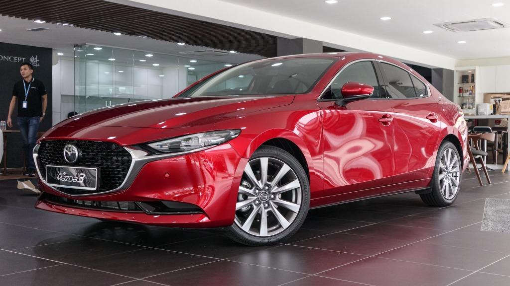 2019 Mazda 3 Sedan 2.0 SkyActiv High Plus Exterior 001