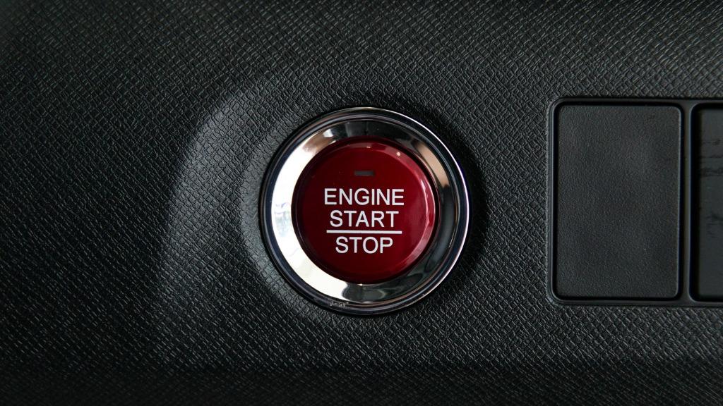 Honda BR-V Push-start button