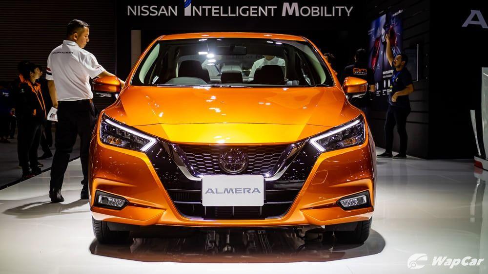 Nissan Almera 2020 Front